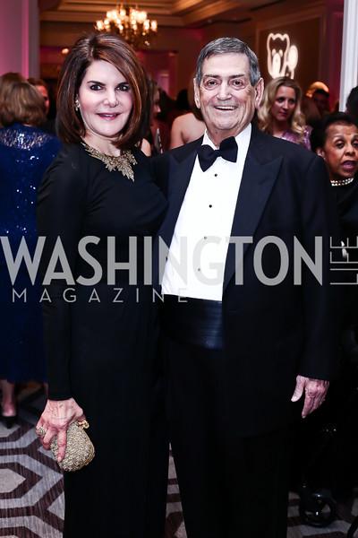 Jackie and Ken Duberstein. Photo by Tony Powell. 2016 Children's Ball. Ritz Carlton. April 15, 2016
