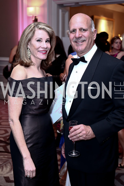 Abigail Blunt, Dave Dorros. Photo by Tony Powell. 2016 Children's Ball. Ritz Carlton. April 15, 2016