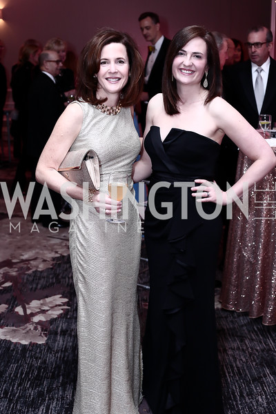 Paige Fromer, Amy McDonald. Photo by Tony Powell. 2016 Children's Ball. Ritz Carlton. April 15, 2016