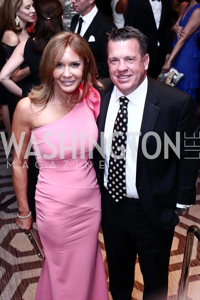 Patrice and Scott Brickman. Photo by Tony Powell. 2016 Children's Ball. Ritz Carlton. April 15, 2016