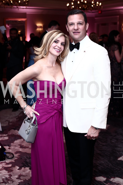 Stacey and Greg Lubar. Photo by Tony Powell. 2016 Children's Ball. Ritz Carlton. April 15, 2016