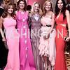 Patrice Brickman, Norah O'Donnell, Carrie Marriott, Jean-Marie Fernandez, Amy Baier. Photo by Tony Powell. 2016 Children's Ball. Ritz Carlton. April 15, 2016