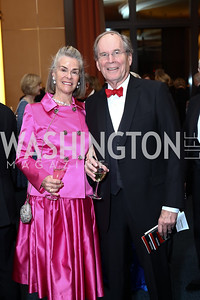Patrick and Sheila Gross. Photo by Tony Powell. 2016 Choral Arts Gala. Kennedy Center. December 19, 2017