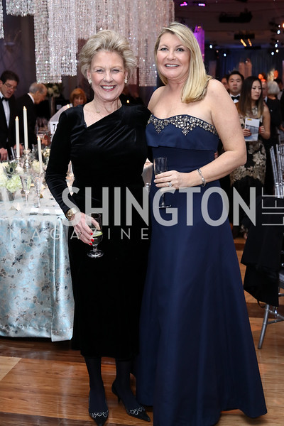 Leslie Schweitzer, Deborah Smith. Photo by Tony Powell. 2016 Choral Arts Gala. Kennedy Center. December 19, 2017