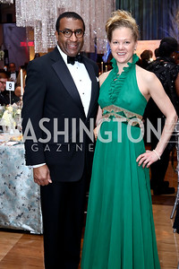 Eric Motley, Monica Pampell. Photo by Tony Powell. 2016 Choral Arts Gala. Kennedy Center. December 19, 2017