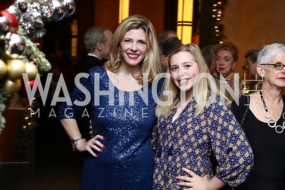 Allison Priebe and daughter McClain Brooks. Photo by Tony Powell. 2016 Choral Arts Gala. Kennedy Center. December 19, 2017
