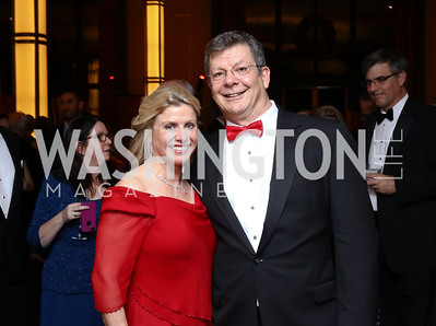 Leslie Sandoz, Scott Pritchett. Photo by Tony Powell. 2016 Choral Arts Gala. Kennedy Center. December 19, 2017