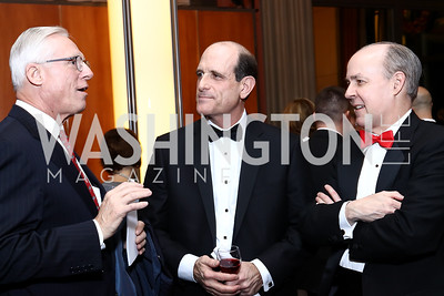 Ray DuBois, Tim Vuono, Brian McKeon. Photo by Tony Powell. 2016 Choral Arts Gala. Kennedy Center. December 19, 2017