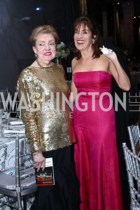Fran Redmon, Debra Kraft Liberatore. Photo by Tony Powell. 2016 Choral Arts Gala. Kennedy Center. December 19, 2017