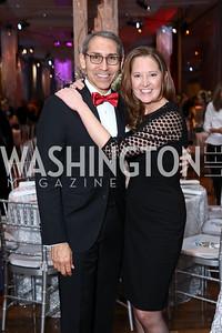 Arthur Espinoza, Liz Sizer. Photo by Tony Powell. 2016 Choral Arts Gala. Kennedy Center. December 19, 2017