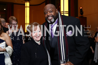 Irma Frank, Singer Ralph Herndon. Photo by Tony Powell. 2016 Choral Arts Gala. Kennedy Center. December 19, 2017