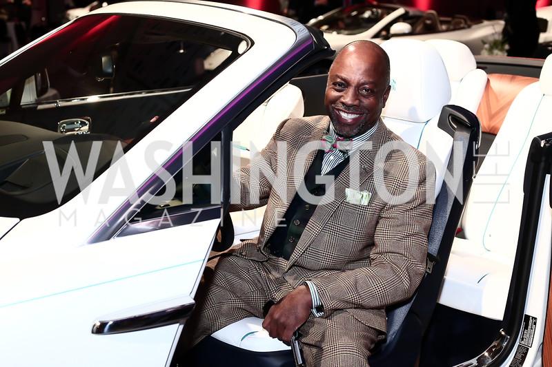 Felix Bighem. Photo by Tony Powell. 2016 Exotic Car & Luxury Lifestyle Reception. Convention Center. January 20, 2016