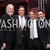 Jack Davies, Sen. Mark Warner, Neil Cohen, Chris Tavlarides. Photo by Tony Powell. 2016 Fight Night. Washington Hilton. November 10, 2016