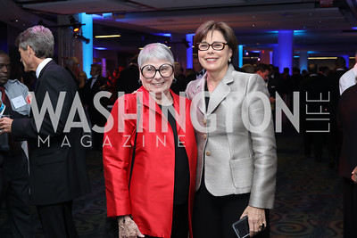 Aimee Robert and Christine Robert. Photo by Tony Powell. 2016 Fight Night. Washington Hilton. November 10, 2016