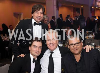 David Tafuri, Tim White, Rick Rickertsen, Ray Regan. Photo by Tony Powell. 2016 Fight Night. Washington Hilton. November 10, 2016