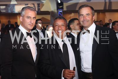 Armin Moshyedi, Ramiro Paez, Peter Kirsch. Photo by Tony Powell. 2016 Fight Night. Washington Hilton. November 10, 2016