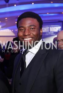 """""""Hamilton"""" Star Okieriete Onaodowan. Photo by Tony Powell. 2016 Fight Night. Washington Hilton. November 10, 2016"""