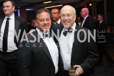Raul Fernandez, Kurt Newman. Photo by Tony Powell. 2016 Fight Night. Washington Hilton. November 10, 2016