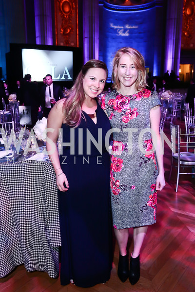 Jen Murray, Maggie McClung. Photo by Tony Powell. 2016 Georgetown Pediatrics Gala. Mellon Auditorium. April 2, 2016