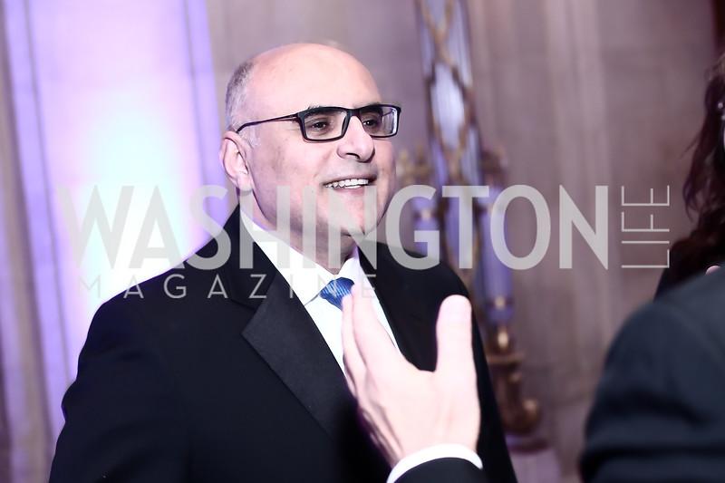 Nail Al-Jubeir. Photo by Tony Powell. 2016 Georgetown Pediatrics Gala. Mellon Auditorium. April 2, 2016