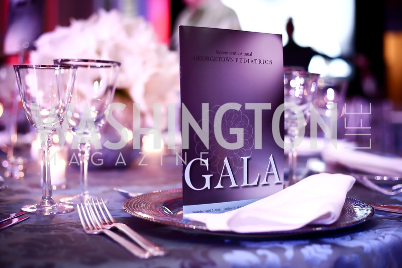 Photo by Tony Powell. 2016 Georgetown Pediatrics Gala. Mellon Auditorium. April 2, 2016
