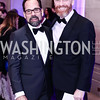 Philip Dufour, Dave Kidney. Photo by Tony Powell. 2016 Georgetown Pediatrics Gala. Mellon Auditorium. April 2, 2016