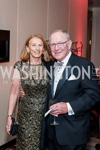 Ann and Bob vom Eigen. Photo by Tony Powell. 2016 Georgetown Rocks CAG Gala. Four Seasons. October 22, 2016