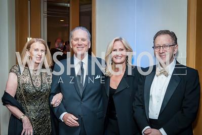 Ann vom Eigen, Tom Ryan and Annemarie Ryan, Keith Lipert. Photo by Tony Powell. 2016 Georgetown Rocks CAG Gala. Four Seasons. October 22, 2016
