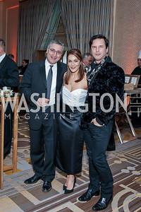 Shahab and Micky Farivar, Don Patron. Photo by Tony Powell. 2016 Georgetown Rocks CAG Gala. Four Seasons. October 22, 2016