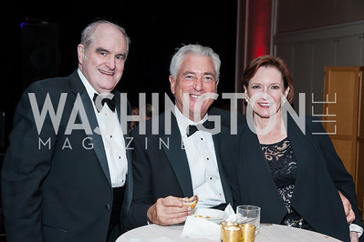 Art Murphy, Frank Marshall, Florence Auld. Photo by Tony Powell. 2016 Georgetown Rocks CAG Gala. Four Seasons. October 22, 2016