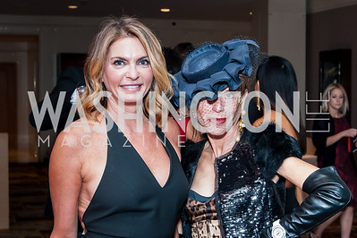 Erika Schiller, Barbara Crocker. Photo by Tony Powell. 2016 Georgetown Rocks CAG Gala. Four Seasons. October 22, 2016
