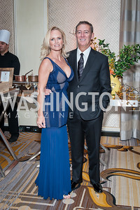 Andrea and Steven Strawn. Photo by Tony Powell. 2016 Georgetown Rocks CAG Gala. Four Seasons. October 22, 2016