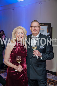 Anne Marie Tighe, John Edelmann. Photo by Tony Powell. 2016 Georgetown Rocks CAG Gala. Four Seasons. October 22, 2016