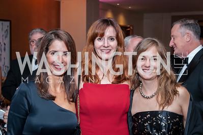 Kelly Collis, Jenny Shtipelman, Ada Polla. Photo by Tony Powell. 2016 Georgetown Rocks CAG Gala. Four Seasons. October 22, 2016