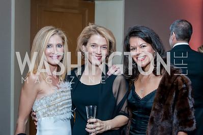 Kelli Pedas, Brandie Smith, Stephanie Polis. Photo by Tony Powell. 2016 Georgetown Rocks CAG Gala. Four Seasons. October 22, 2016