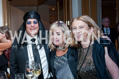 Greg and Holly Styles, Ann vom Eigen. Photo by Tony Powell. 2016 Georgetown Rocks CAG Gala. Four Seasons. October 22, 2016