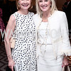 Ladies Executive Committee Co-Chairs Lorraine Wallace and Laurie Monahan. Photo by Tony Powell. 2016 Great Ladies Luncheon. Ritz Carlton. April 13, 2016
