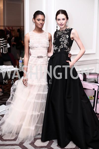 Felicia Smith, Hayden Wight. Photo by Tony Powell. 2016 Great Ladies Luncheon. Ritz Carlton. April 13, 2016