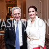Dr. Howard Fillit, Lynda Carter. Photo by Tony Powell. 2016 Great Ladies Luncheon. Ritz Carlton. April 13, 2016