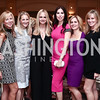 Jean-Marie Fernandez, Carrie Marriott, Sharon Bradley, Amy Baier, Stacey Lubar, Dondi Dahlgaard. Photo by Tony Powell. 2016 Great Ladies Luncheon. Ritz Carlton. April 13, 2016