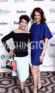 Barbara Wright and Crystal Wright. Photo by Tony Powell. 2016 Great Ladies Luncheon. Ritz Carlton. April 13, 2016