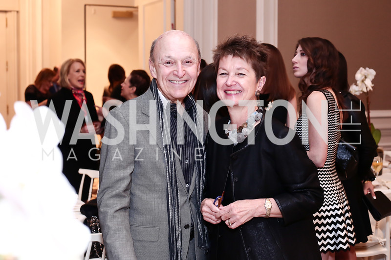 Victor Shargai, Dorothy Kosinski. Photo by Tony Powell. 2016 Great Ladies Luncheon. Ritz Carlton. April 13, 2016