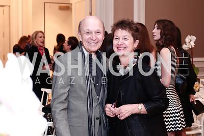 Victor Shargai, Dorothy Kosinski. Photo by Tony Powell. 2016 Great Ladies Luncheon. Ritz Carlton. April 13, 2016