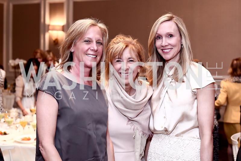 Nancy Taylor-Bubes, Karen Sonneborn. Photo by Tony Powell. 2016 Great Ladies Luncheon. Ritz Carlton. April 13, 2016