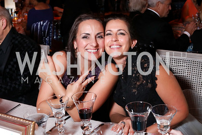 Sally Sadosky, Amy Hassall. Photo by Tony Powell. 2016 Harman Gala. Building Museum. September 25, 2016