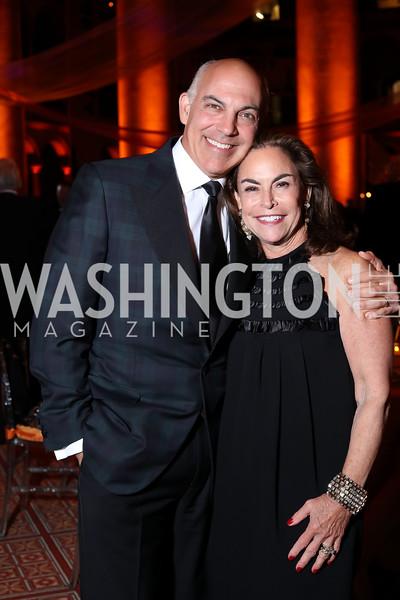 Jonathan Silver and Melissa Moss. Photo by Tony Powell. 2016 Harman Gala. Building Museum. September 25, 2016