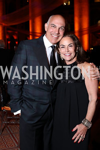Jonathan Silver and Melissa Moss. Photo by Tony Powell. 2016 Harman Gala. Building Museum. September 25, 2016