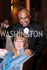 Debbie Driesman, Frank Islam. Photo by Tony Powell. 2016 Harman Gala. Building Museum. September 25, 2016