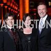Joel Friedman, Jenny Bilfield, Mark O'Connor. Photo by Tony Powell. 2016 Harman Gala. Building Museum. September 25, 2016