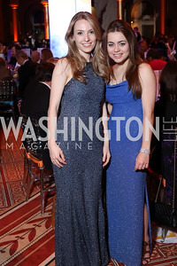 Maggie O'Connor, Kate Lee. Photo by Tony Powell. 2016 Harman Gala. Building Museum. September 25, 2016